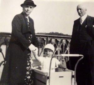 Laurentine et Gustave Van Haesenbrouck, les parents de Laure