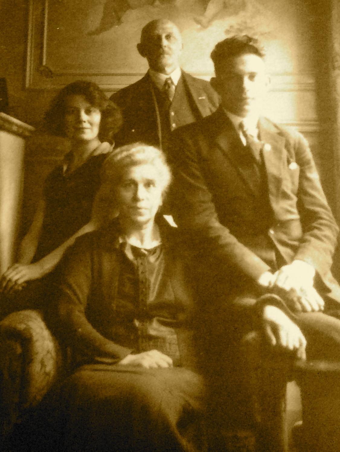La famille de Laure