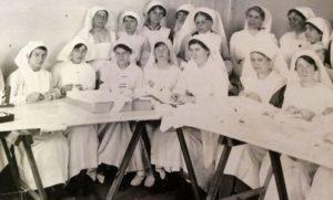 L´école d´infirmière de Laure en 1918