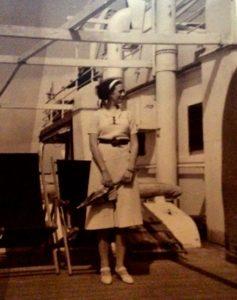 A bord du Leopoldville, en route pour le Congo
