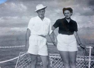 A Bord du Prince Leopold sur le lac Tanganika