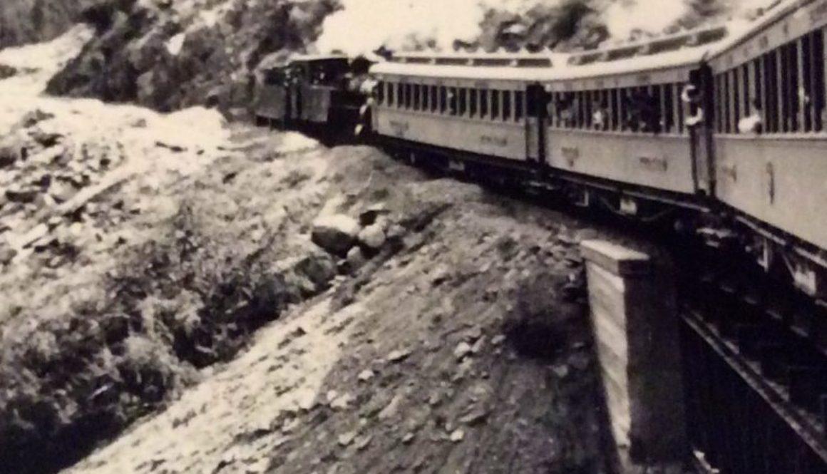 Le train vers Lobito, septembre 1938